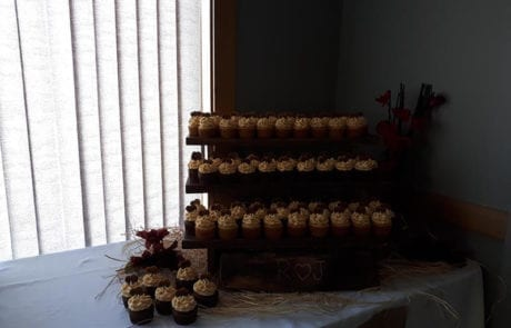 wedding reception desserts