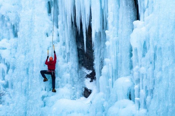 Ice Climbing in Ontario